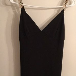 ABS black dressy dress